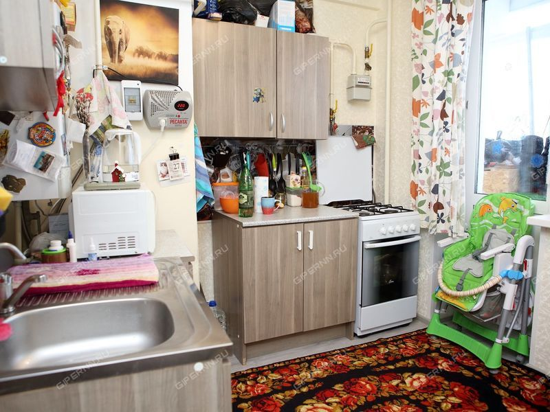 однокомнатная квартира на улице Гагарина дом 1 посёлок Новинки