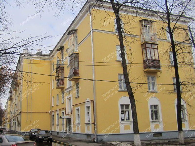 двухкомнатная квартира на улице Героя Советского Союза Поющева дом 13